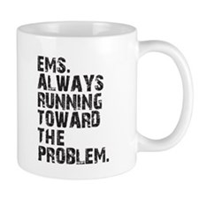 EMS Always Running Small Mug