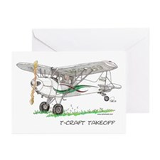 T-Craft Takeoff Greeting Cards (Pk of 10)