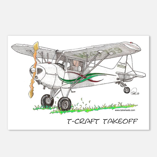 T-Craft Takeoff Postcards (Package of 8)