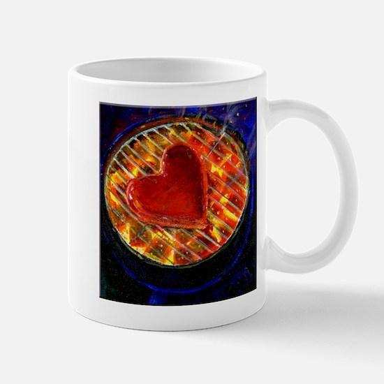 My Heart's on Fire Mug