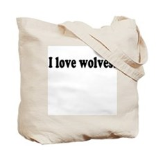"""Wolf In Woods"" Tote Bag"