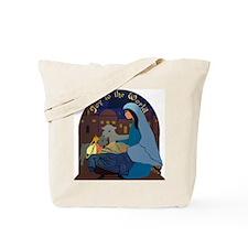 Mary and Baby Jesus Nativity Tote Bag