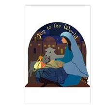 Mary and Baby Jesus Nativity Postcards (Package of