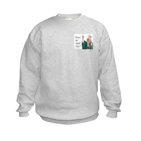 Pope John Paul II Kids Sweatshirt