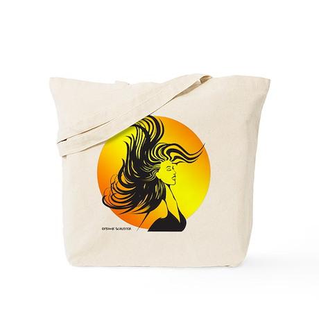 Wild Dance Girl Tote Bag