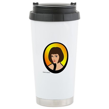 Lady Connie Stainless Steel Travel Mug