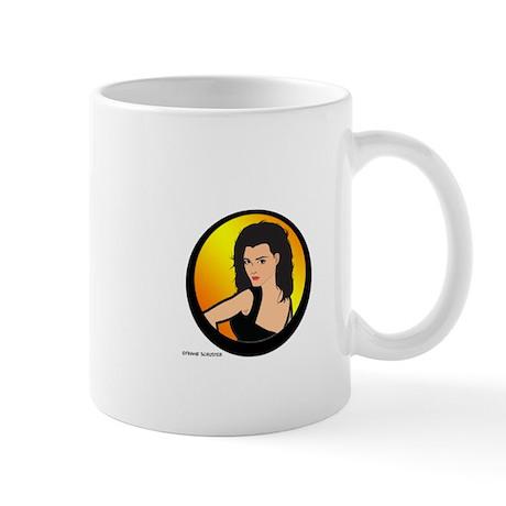 Longhair Girl Mug