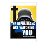 The GOP Is Watching! Postcards (Package of 8)