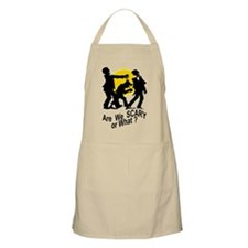 Are We Scary BBQ Apron