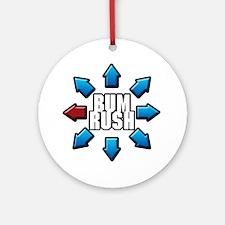 Bum Rush Ornament (Round)