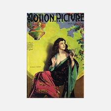Shirley Mason Silent Movie era Rectangle Magnet
