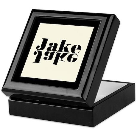 Jake - Bookplate Stoage Box