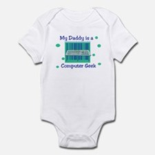 My Daddy is a Computer Geek Infant Creeper