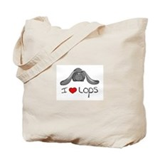 I Heart Lop Rabbits Tote Bag