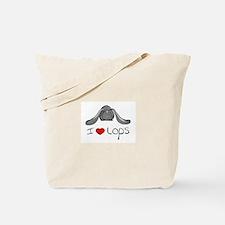 I Heart Lop Rabbits Tote Bag