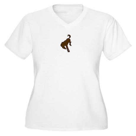 bronco logo 3D Plus Size T-Shirt