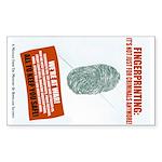 Fingerprint Everyone Sticker