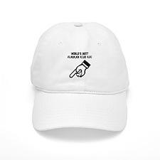 World's Best Alaskan Klee Kai Baseball Cap