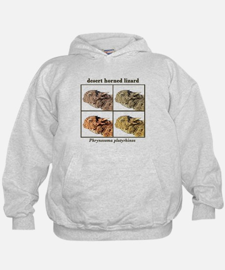 Horned lizard colors Hoodie