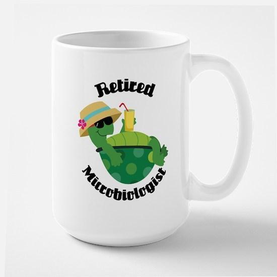 Retired Microbiologist Gift Mugs
