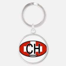 ch-oval-colors Keychains