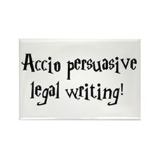 Accio persuasive legal writing! Rectangle Magnet