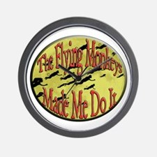 Flying Monkeys Wall Clock