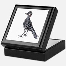 cool desert roadrunner Keepsake Box