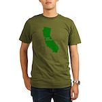 cali grown Organic Men's T-Shirt (dark)