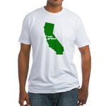 cali grown Fitted T-Shirt
