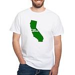 cali grown White T-Shirt
