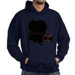 vintage video Hoodie (dark)