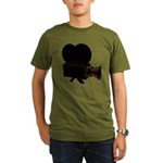 vintage video Organic Men's T-Shirt (dark)