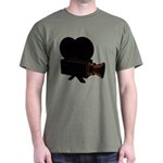 vintage video Dark T-Shirt