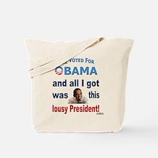 Lousy President Tote Bag