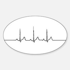 LifeBeat Oval Decal