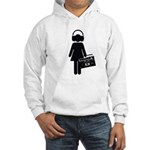 music lover Hooded Sweatshirt