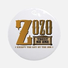 ZOZO (Trust No One) Ornament (Round)