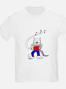 Catoons™ Harmonica Cat T-Shirt