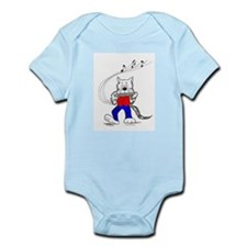Catoons™ Harmonica Cat Infant Bodysuit