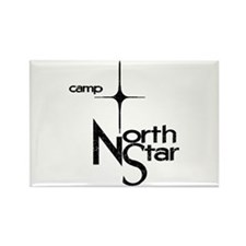 Camp North Star Rectangle Magnet
