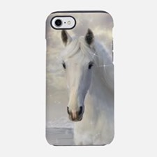 Sparkling White Horse iPhone 7 Tough Case