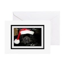 Big Black Dog Greeting Cards (Pk of 20)