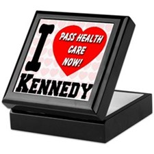 I Love Kennedy Pass Health Care Now Keepsake Box