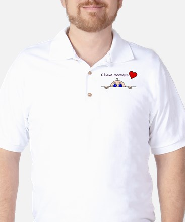 I have mommys heart Golf Shirt