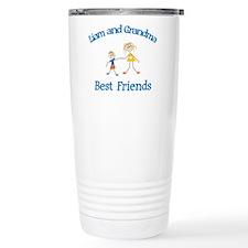 Liam & Grandma - Best Friends Travel Mug