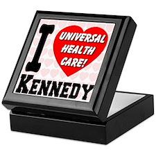 I Love Kennedy Universal Health Care Keepsake Box