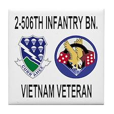 2-506th Infantry Vietnam Tile Coaster 2
