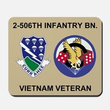 2-506th Infantry Vietnam Mousepad 2