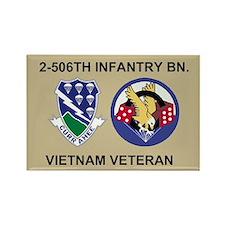 2-506th Infantry Vietnam Magnet 2